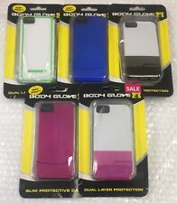 LOT OF 5 Body Glove Dual-Layer Cases for Apple iPhone 5 5S