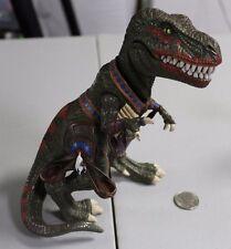 "RARE Turok Dinosaur Hunter 8"" Tribal T-Rex Jr Loose Playmates 1999 Acclaim HTF"