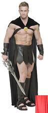 SPARTAN WARRIOR 300 ROMAN GREEK GLADIATOR THOR SUPERHERO COSTUME LEGIONS CAPE