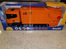 Bruder Scania R-Series Garbage Truck - Orange 03560