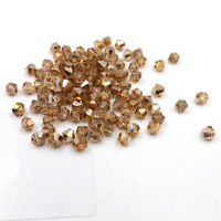1000pcs Austria Crystal Glass bead 4mm #5301 Bicone beads DIY jewelry make #234