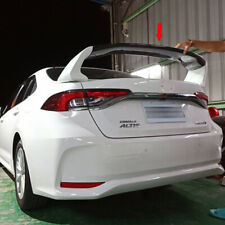 Unpainted ABS For Toyota Corolla Altis 12th Sedan RR Style Rear Trunk Spoiler