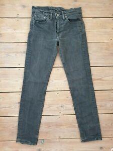 Ladies Levi Strauss & Co Levis Dark Jeans 511 W28 L32