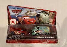 Disney Pixar Cars Kmart Exclusive Lighting McQueen & Fillmore With Headset