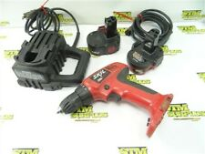 SKIL 12V DC CORDLESS DRILL W/ BATTERY + CHARGER & CORDED BACKUP