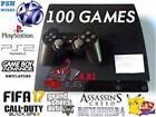 PlayStation 3 PS3 250GB 100 Games PSX PS2 GBA Fifa 17 Pokemon RBG 4.81 3.55 sony