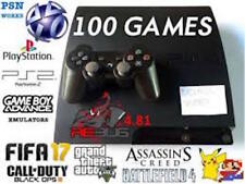 PlayStation 3 PS3 250GB 100 Games PSX PS2 GBA Fifa 17 Pokemon RBG 4.81 3.55 sony