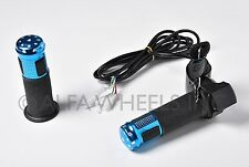 Electric Scooter Twist Throttle 5 Wire 12 24 36 48 60 72 Volts w Digital screen