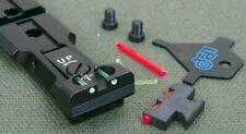 LPA WEAVER sight set for Smith & Wesson Revolvers , model WXT02F2 BLACK
