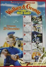Wallace & Gromit 2005 Singapore Stamps