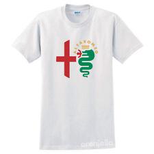 New ListingAlfa Romeo Unisex Men's T-Shirt White S-5Xl