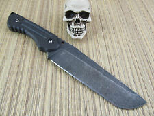 Jake Hoback Custom Handmade Jake's Personal Carry Blade 4V Steel Carbon Fiber