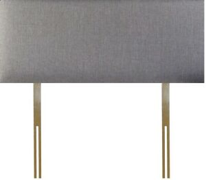 New Grey Fabric Headboard - Available in 20 or 24 inch Height 3FT 4FT 4FT6 5FT