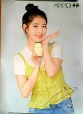 K-POP IU  POSTER -Binggrae Banana Flavored Milk Advertisement