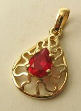 Ruby Lab-Created/Cultured Fine Jewellery