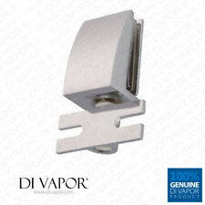 Di Vapor (R) Shower Door Glass Pivot Hinge 25mm Hole to hole Frameless Heavy