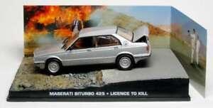 JAMES BOND 007 film model LICENCE TO KILL Maserati Biturbo 425 Timothy Dalton