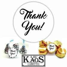 108 Thank You Stickers Labels Wedding School Birthday Kisses Candy Mints Pta Pto