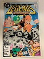 DC LEGENDS (1987) #3 Key 1st SUICIDE SQUAD Appearance NEW MOVIE COMING JAMESGUNN