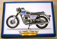 TRIUMPH T140 J JUBILEE BONNEVILLE CLASSIC MOTORCYCLE BIKE 1970'S PICTURE ROYAL