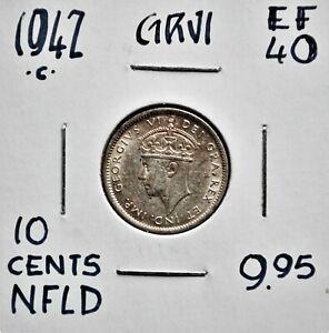 1942-c Newfoundland 10 cents