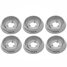 CANNON Oven Hob Cooker Flame Control Knob Switch Bezel Ring Collar x 6