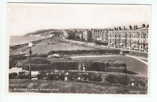 Western Lawns Eastbourne Sussex Real Photograph Lansdowns LP707 Old Post Card