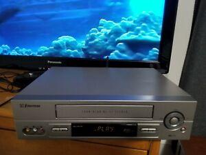 Emerson EV818 VCR VHS Player Video Recorder 4 Head Hi-Fi Stereo - No Remote