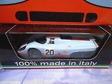 PORSCHE 917K 917 24h Le Mans #20 1970 Siffert Redman JWA Gulf Brumm 1:43