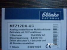 Eltako MFZ12DX-UC Multifunktions-Zeitrelais Neu / OVP