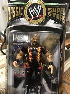 WWE WWF Jakks Classic Superstars Collector  #9 Bam Bam Bigelow FREE SHIPPING