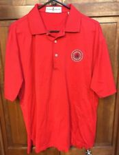 Fairway & Greene Men M Polo Shirt Olympia Fields Country Club Red 90 Anniversary