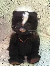 Charlie Bears Whiffy the skunk *  2015 Isabelle Mohair Collection FREE US SHIP