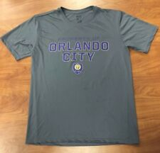 Orlando City Soccer Club Lions Shirt MLS Size Medium Dri-Fit Material OCSC