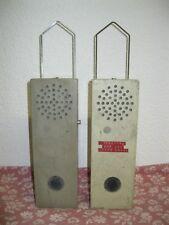 Vintage Lot x2 Anciennes RADIO? TELEPHONE? PTT P.O. DE SURVEILLANCE 292-0150 BFA
