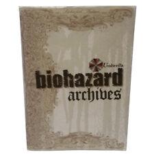 Resident Evil Biohazard Umbrela Archives Illustration Art Book Japan Import