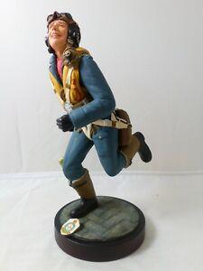 Officer Geoffrey Wellum Royal Air Force, Wincentzen Sculptures Ceramic Figurine