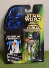 STAR WARS CARDED POWER OF THE FORCE GREEN CARD SANDTROOPER