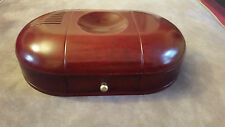 ROSEWOOD DESK CADDY SLIDE OUT and swing DRAWERS