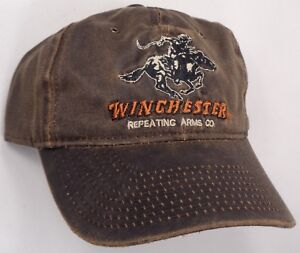 Hat Cap Licensed Winchester Weathered Cotton Brown OC