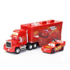 1:55 Jouet en métal Disney Pixar Cars & Camion #95 MACK + Lightning McQueen