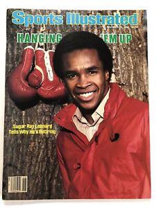 November 15 1982 Sports Illustrated Sugar Ray Leonard Hanging Em Up NO LABEL