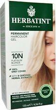 Herbatint Platinum Blonde Hair Color 10N, Herbatint, 1 piece