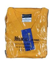 B.I.C.Medical Uniforms Size S Orange Nursing Scrub 2 Piece Outfit Unisex New
