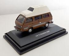"SCHUCO  -  VW T3 Westfalia Joker  ""Wohnmobil""  --  26142 -  braun - 1:87  -  Neu"