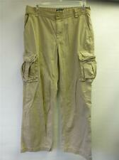 boy youth RALPH LAUREN POLO khaki cargo pants sz 20 dress golf cut= shorts clean