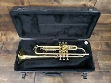 King 600 Trumpet Pre-owned w/ Hard Case + Mouthpiece Dented No Reserve Auction!