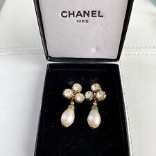 56382b200269af Chanel Crystal Gold Tone Large 2