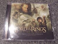 """Lord of the Rings """"the Return of the King"""" SEALED NM 2CD PACK"""
