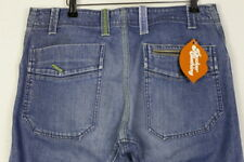 Mens Diesel Jeans Straight Fit Button Fly 00 ECAL a6001 w32 l34 Stonewashed p7